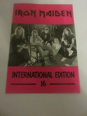 Iron Maiden Official Fan Club Magazine - Issue 16 • 10£