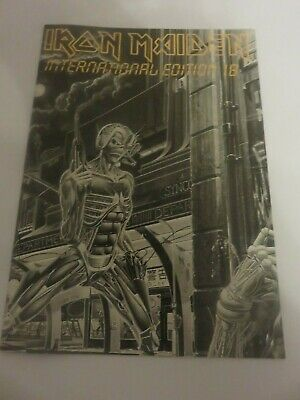 Iron Maiden Official Fan Club Magazine - Issue 18 • 10£