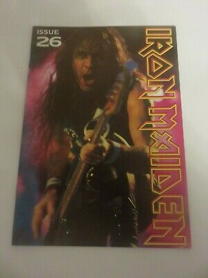 Iron Maiden Official Fan Club Magazine - Issue 26 • 10£