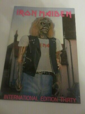 Iron Maiden Official Fan Club Magazine - Issue 30 • 10£