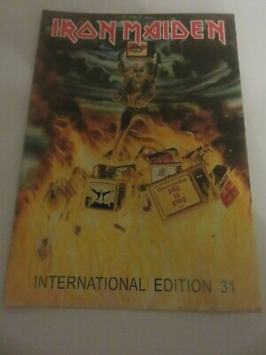 Iron Maiden Official Fan Club Magazine - Issue 31 • 10£