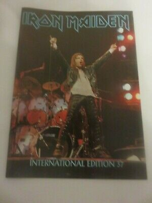 Iron Maiden Official Fan Club Magazine - Issue 37 • 10£