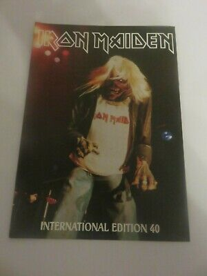 Iron Maiden Official Fan Club Magazine - Issue 40 • 10£