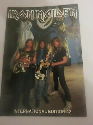 Iron Maiden Official Fan Club Magazine - Issue 42 • 10£