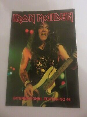 Iron Maiden Official Fan Club Magazine - Issue 46 • 10£