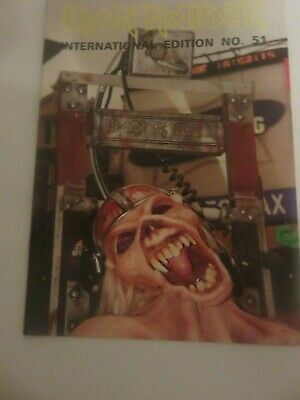 Iron Maiden Official Fan Club Magazine - Issue 51 • 10£