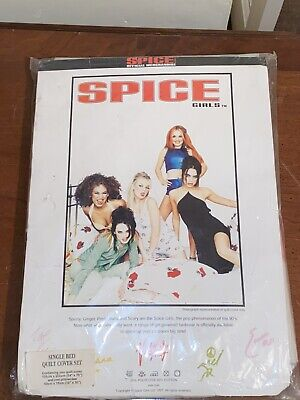 Spice Girls Quilt Cover Official Merchandise Still With Packaging Very Rare • 25.99£