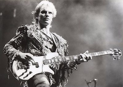 The Police Photo 1983 Sting Unique Unreleased Image Exclusive 12inchs London Gem • 8.95£