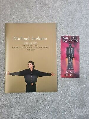 Michael Jackson This Is It Hologram Ticket & Memorial Programme Books  • 45£