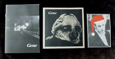 Gene #1 Band Newsletter , Print And Christmas Card • 9.99£