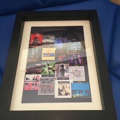 Depeche Mode Souvenir Framed Album Covers • 8£