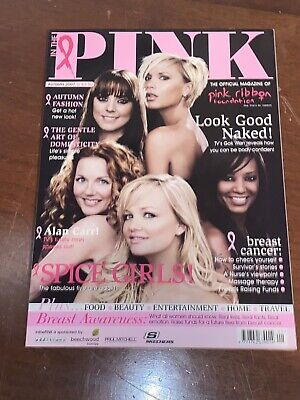 Spice Girls Front Cover In The Pink Magazine Autumn 2007 Very Collectable Rare • 12.50£