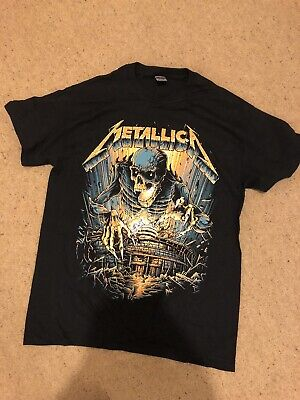 Metallica Rare Worldwired 2017/2020 EMP 72 Hour Sale StadiumRage Sold Out Tshirt • 0.99£
