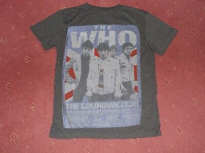 The Who T-shirt Small  The Goldhawk Club 3/12/1965 • 4.99£