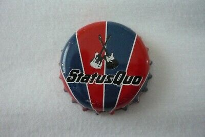 Status Quo Dog Of Two Heads Beer Rare Bottle Top • 4.99£