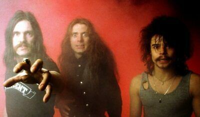 Motorhead Photo 1980`s Band Promotional Image Rare And Ready To Frame • 9.85£