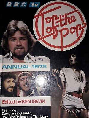 Top Of The Pops Annual   BBC TV  1978 David Essex Queen Thin Lizzy • 2£