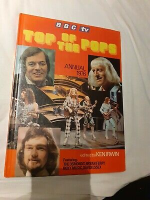 Top Of The Pops Bbc Annual 1976 Illustrated Hardback Vintage Pop Music Book  • 1£
