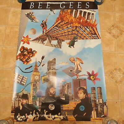 1991  Official High Civilization Tour Poster -  BEE GEES -  • 29.99£