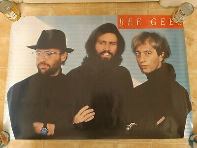 1991  Official High Civilization Tour Poster -  BEE GEES - Version 2  • 37.99£