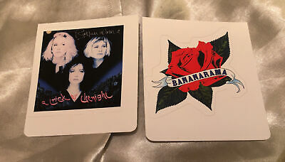 Bananarama Sticker Bundle. New. Siobhan Fahey, Venus. • 2.99£
