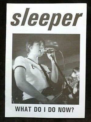 SLEEPER What Do I Do Now?  VINTAGE OFFICIAL FAN CLUB MAGAZINE / NEWSLETTER • 6.99£