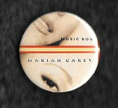Mariah Carey Music Box 1x 32mm Badge  • 1.30£