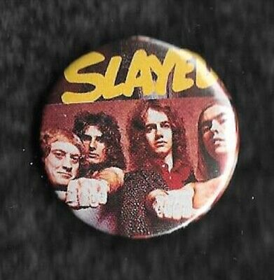 Slade Slayed Noddy Holder Powell Lea Hill Glam Rock 1x 32mm Badge  • 1.30£