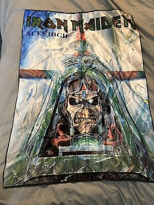 Official Licensed - Iron Maiden - Aces High Textile Poster Flag Metal • 19.99£