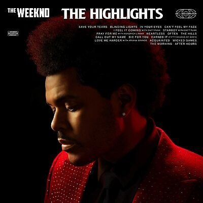 THE WEEKND THE HIGHLIGHTS CD Greatest Hits (New Release 5/02/2021) - IN STOCK • 10.99£