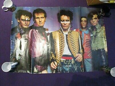 ADAM AND THE ANTS Kings Of The Wild Frontier Poster RARE • 1.99£