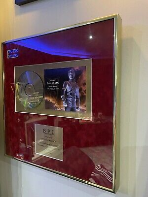 Michael Jackson Official BPI Award (History Album)  • 2,100£