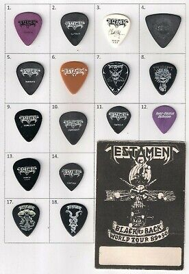 12 Of 18 Rare And Collectable Trans Siberian Orchestra Guitar Pick Testament • 5.99£