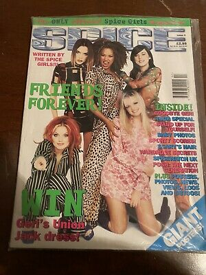 Spice Girls Official SPICE Magazine Issue 6 1997 - No Inserts - With Shrink Wrap • 15£