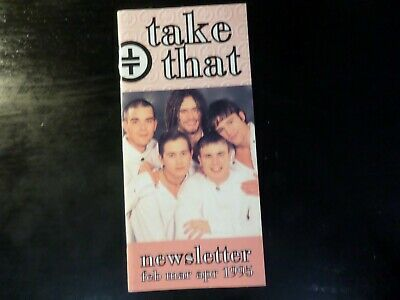 Take That - Newsletter - Feb / March / April 1995  • 1£