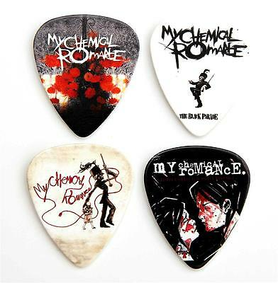 My Chemical Romance Guitar Plectrums - Packet Of 4 MCR Premium Guitar Picks • 4.29£