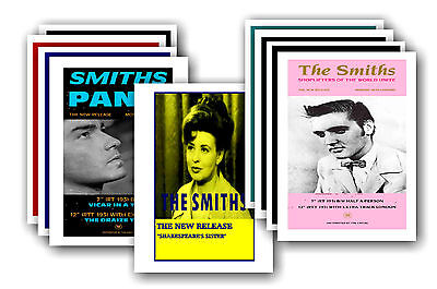 THE SMITHS  - 10 Promotional Posters - Collectable Postcard Set # 1 • 5.99£