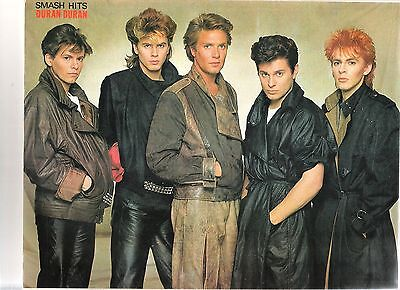 DURAN DURAN  'suede & Leather' Magazine PHOTO / Poster/Clipping 11x8 Inches • 5.95£