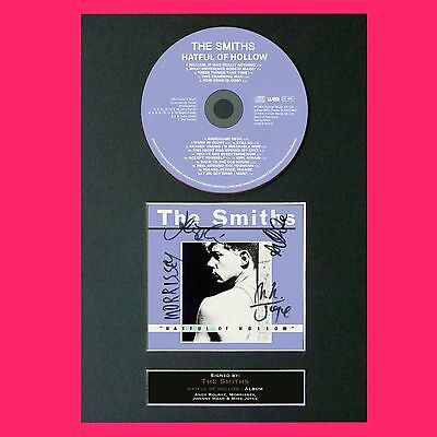 THE SMITHS Hatful Of Hollow RARE ALBUM Signed Cd MOUNTED Autograph Print 76 • 7.99£