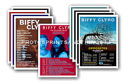 BIFFY CLYRO  - 10 Promotional Posters  Collectable Postcard Set # 1 • 5.99£