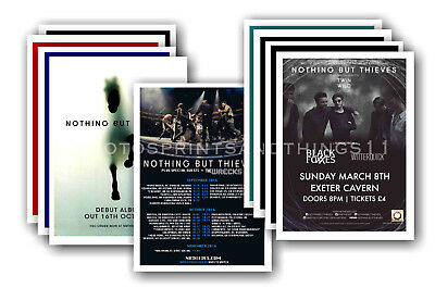 NOTHING BUT THIEVES - 10 Promotional Posters  Collectable Postcard Set # 1 • 5.99£