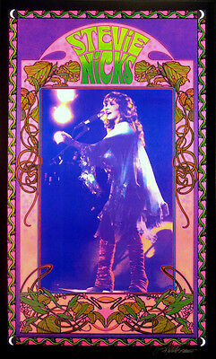 Stevie Nicks Poster Fan Club #1 Beautiful Lithograph Hand Signed By Bob Masse • 22.22£