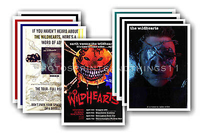THE WILDHEARTS - 10 Promotional Posters  Collectable Postcard Set # 1 • 5.99£