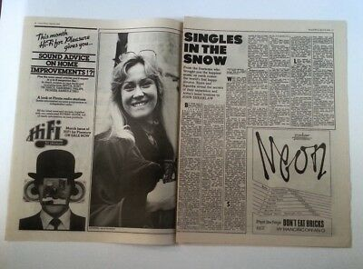 ABBA 'singles' 1979 ARTICLE / Clipping • 9.95£