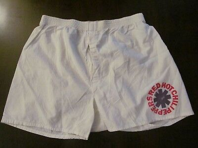 Red Hot Chili Peppers White Boxer Shorts • 35.17£