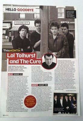 CURE: Lol Tolhurst 'hello/goodbye ARTICLE / Clipping • 9.95£