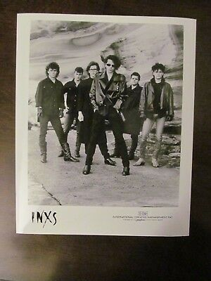 Inxs Band Promo #2 Photo From 80's-not Sold To The Public • 19.85£