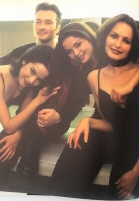 The CORRS 'group Huddle'  Magazine PHOTO/Poster/clipping 11x8 Inches • 5.95£
