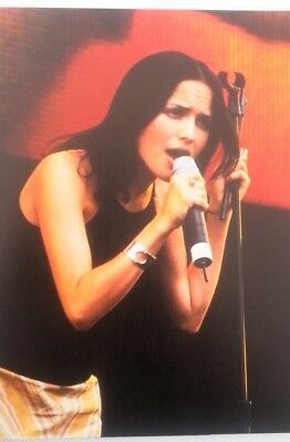 The CORRS 'mic & Stand' Magazine PHOTO/Poster/clipping 11x8 Inches • 5.95£