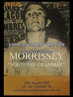 Morrissey Souhpaw Grammar 16  X 12  Photo Repro Promo Poster • 5.50£